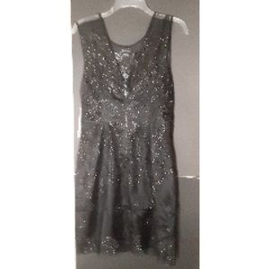 Kay Unger Dresses - Phoebe Dress By Kay Unger Black Lace  Sz 10 NWT